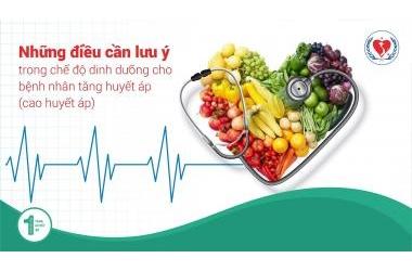 Cao huyết áp nên ăn gì?